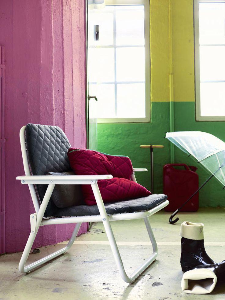 Klappstuhl Mit Steppmuster Aus Der Neuen IKEA PS 2017 Kollektion. #roomido # Wohnen #