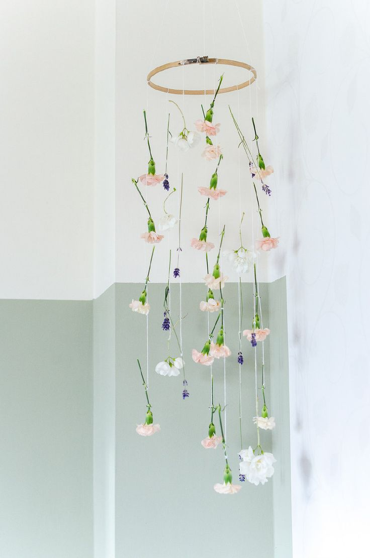 Best Images About Flowers On Pinterest - Beautiful diy white flowers chandelier