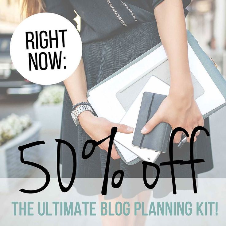 Say What Now?! . Mid-Season Sale! . THIS is your chance to secure a copy of The Ultimate Blog Planning Kit for only $4.50!! .  With 7 months left (out Feb. 2018) in this unique blog-changing planner  there's still oodles and tons of super-valuable off-the-charts-awesome blogging content for you to get your hands on! .  Plus! 70% of the content in this planner is totally all-year/ever-year stuff that you can use from now until forever! . But hurry this offer won't last! Get yours now on…