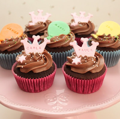 Atelier Sucrème: Cupcakes de cumpleaños