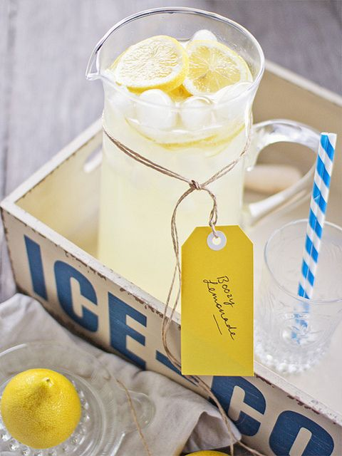 boozy lemonade by fruitcakey, via Flickr: Lemonade Cocktails, Summer Drinks, Hot Summer Day, Ice Cream, Wooden Boxes, Boozi Lemonade, Icecream, Healthy Life, Lemonade Recipe