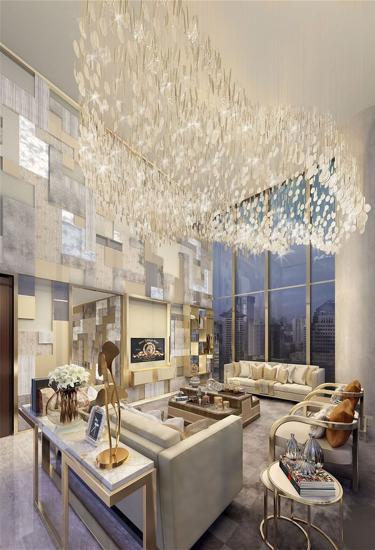 Project By The Interior Designer, Helen Green | The Majestic Chandelier  Together With The Sparkling