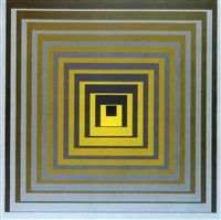 Vonal SZS by Victor Vasarely