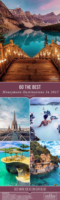 Browse the best honeymoon destinations in US, Hawaii, Bali, Maldives, Bora Bora, Paris, Venice, and more. Get inspire and make your honeymoon unforgettable. #weddingforward #wedding #bride #Honeymoon #BestHoneymoonDestinations