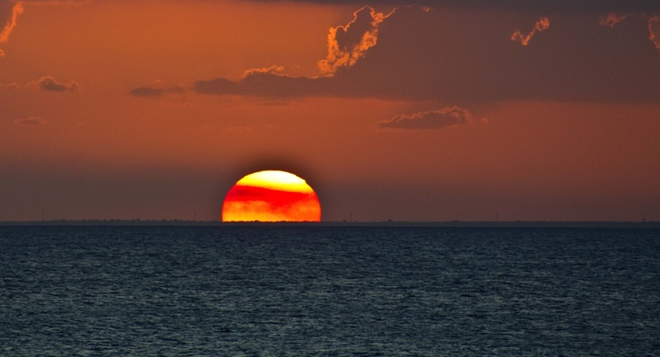 Sunsets in the Mexican Caribbean can ONLY be seen from COZUMEL like this one...: Mexicans Caribbean, Luxury Travel