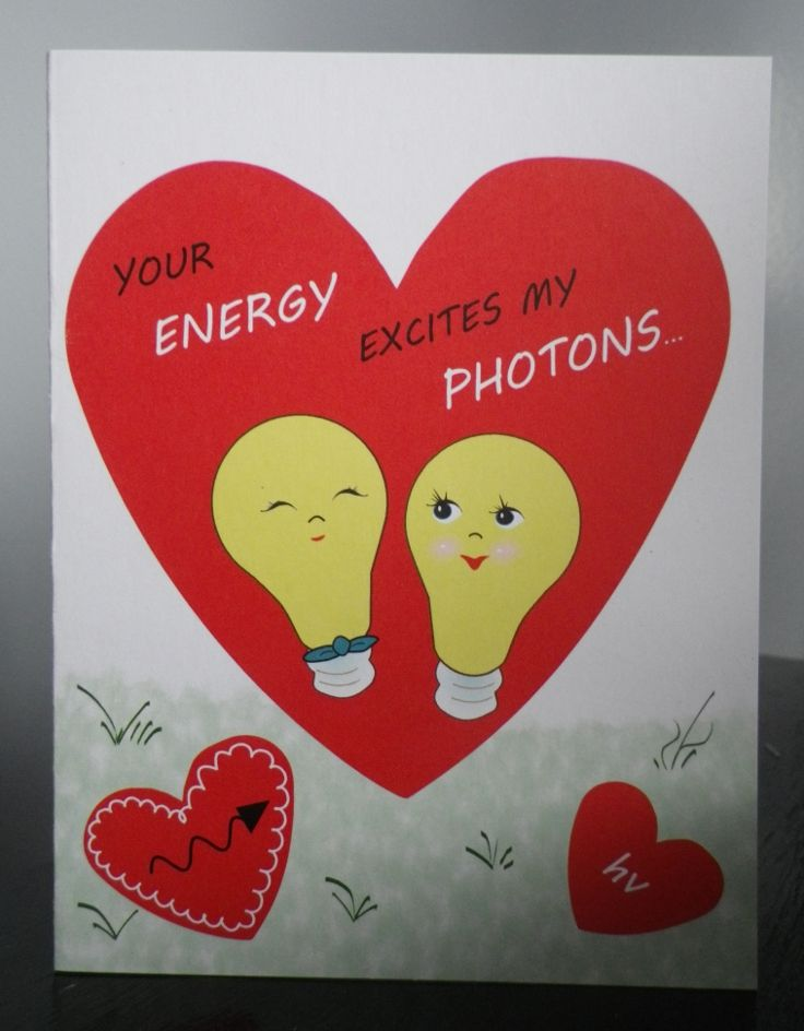 11 best images about valentines day cards – Chemistry Valentines Day Card