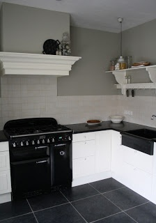 mooie kleurcombie vloer/keuken/muur