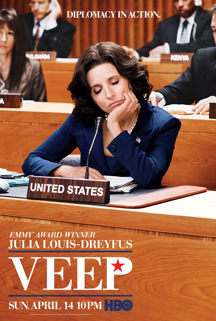 """""""Veep"""" Season 2 Poster. I'd like to check out this show one day."""