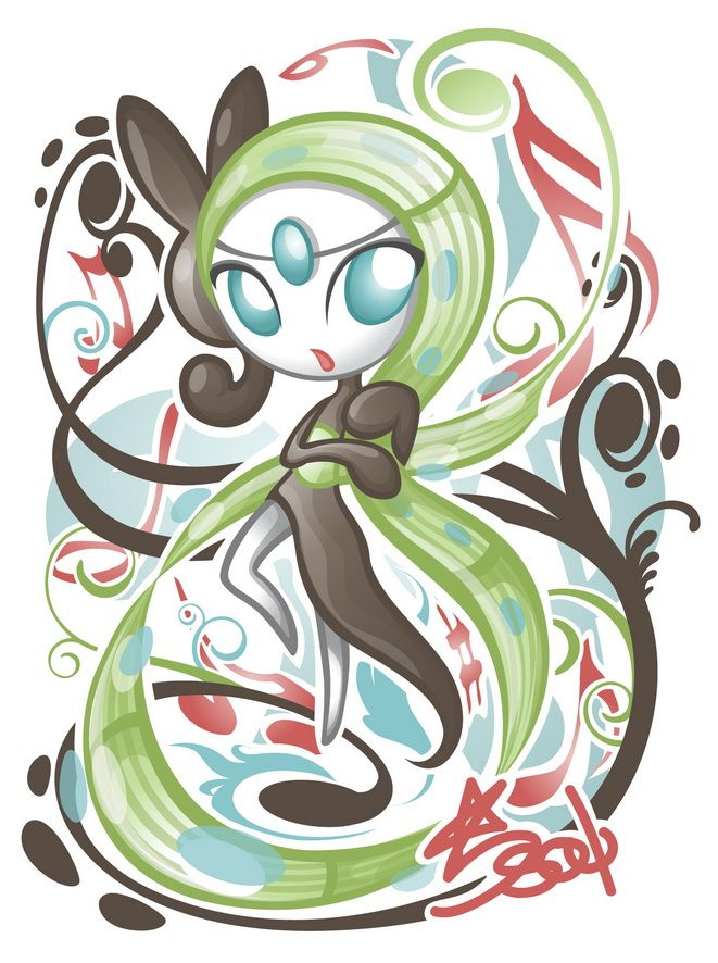 Just... epic. I need to get Meloetta :3