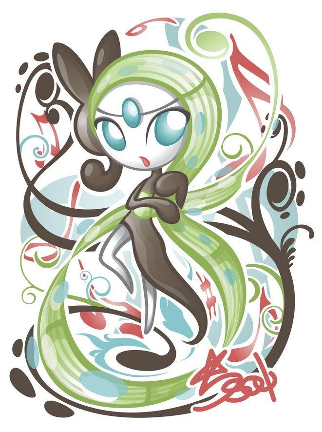 Meloetta Aria by Star-Soul.deviantart.com on @deviantART