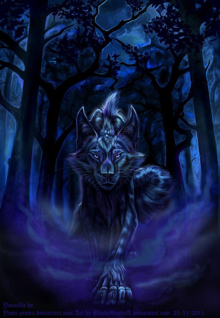 портрет мистические арты волков так как расписание