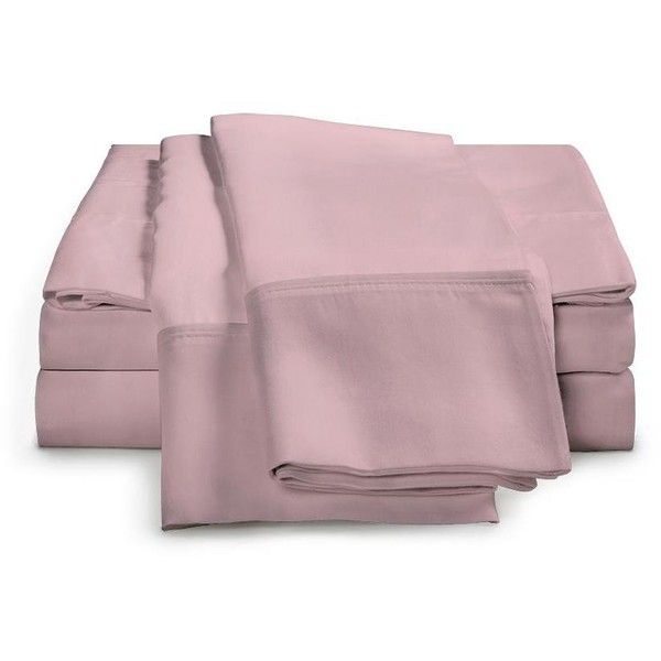 eLuxury 300 Thread Count Cotton Sheet Set ($48) ❤ liked on Polyvore featuring home, bed & bath, bedding, bed sheets, queen fitted sheet, twin sheet sets, king size sheet sets, king sheet set and extra long twin fitted sheets