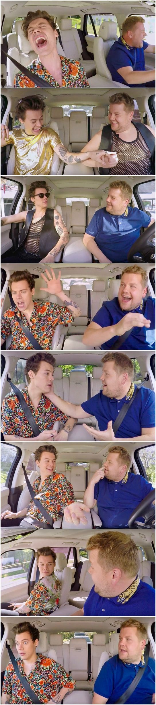 NEW | Pure Joy! Harry's Carpool Karaoke on The Late Late Show with James Corden. Watch it here! Follow rickysturn/harry-styles