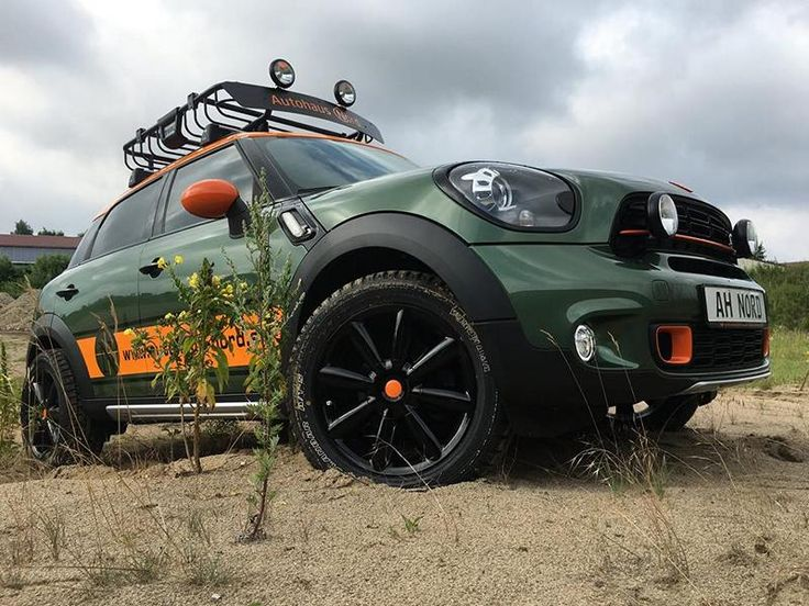 Delta 4x4 Mini Countryman 40mm Höherlegung Tuning