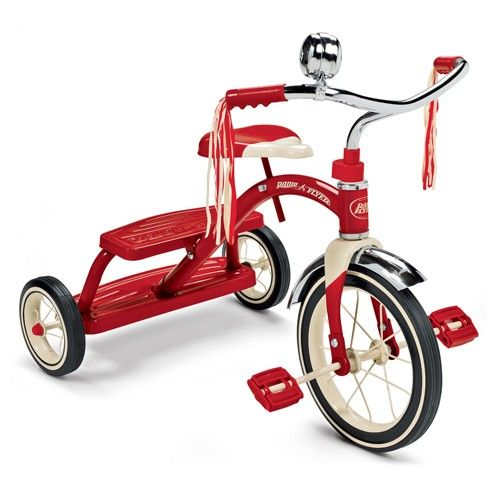 Radio Flyer - Classic Red Dual Deck Tricycle - Trikes & Bikes