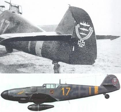 """Bf 109 G6 R6 , used by Gerhard """"Gerd"""" November 1943 , Staffelkapitän of 8/JG 300,he was appointed Gruppenkommandeur of I/JG300 on 1st of November"""
