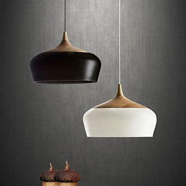 Simple Modern LED Pendant Light Fixtures Corridor Pendant Lamp Bedroom Wooden Lamps Spray Paint 1 Lights aluminum Pendant Light-in Pendant Lights from Lights & Lighting on Aliexpress.com | Alibaba Group