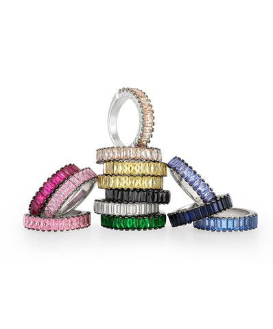 Skylar Baguette Ring #JENNACLIFFORD