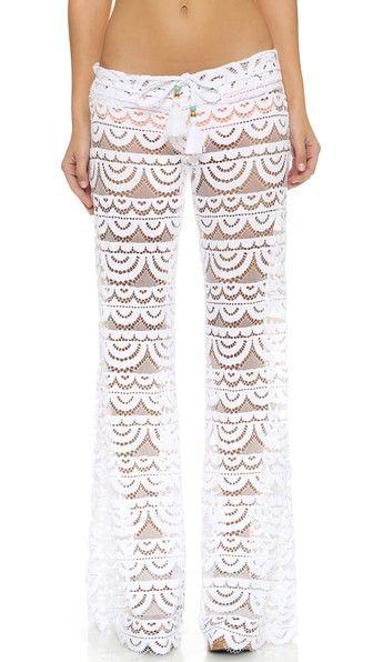 PilyQ Malibu Lace Pants | SHOPBOP