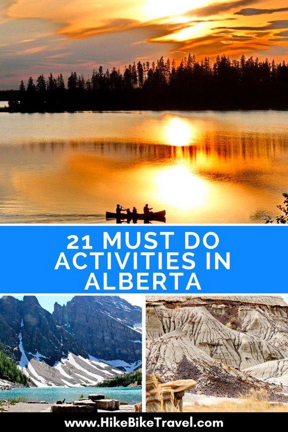 21 Must Do Activities in Alberta