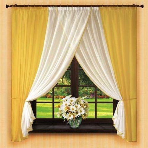 Выбираем короткие шторы