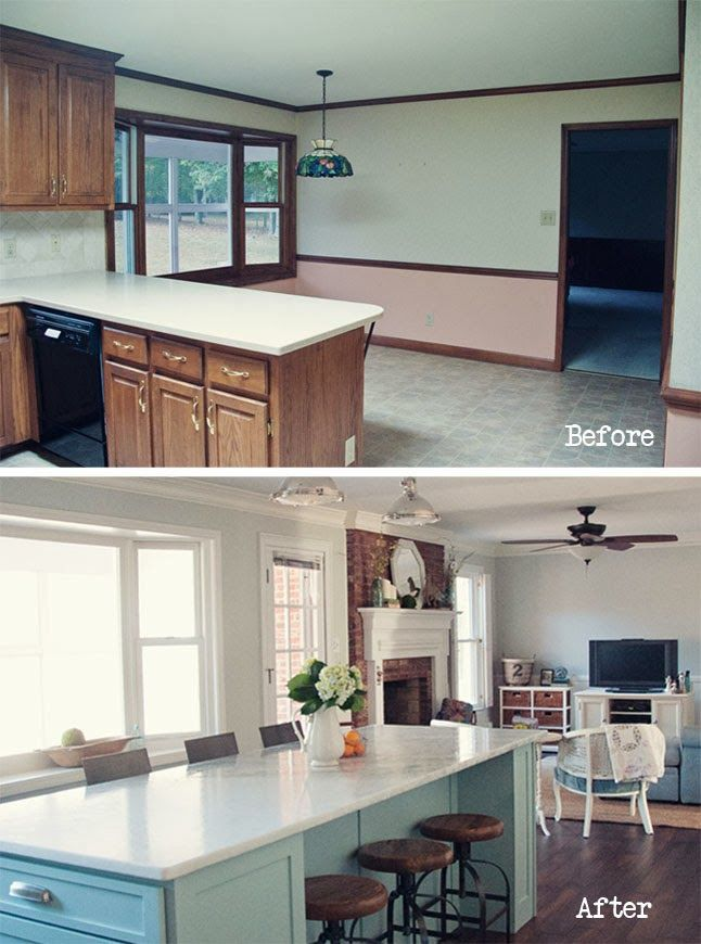 Kitchen Remodel Before And After Wall Removal 255 best before and after images on pinterest | kitchen ideas