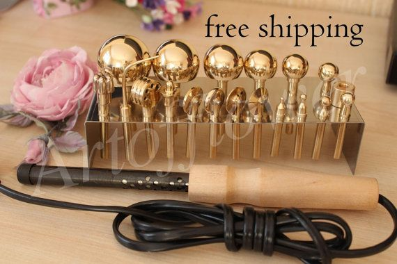 Please check my other sets.19 Millinery Fabric Flower Making Tools High Quality Brass Set incl Soldering iron+Video 45 min+Books in English