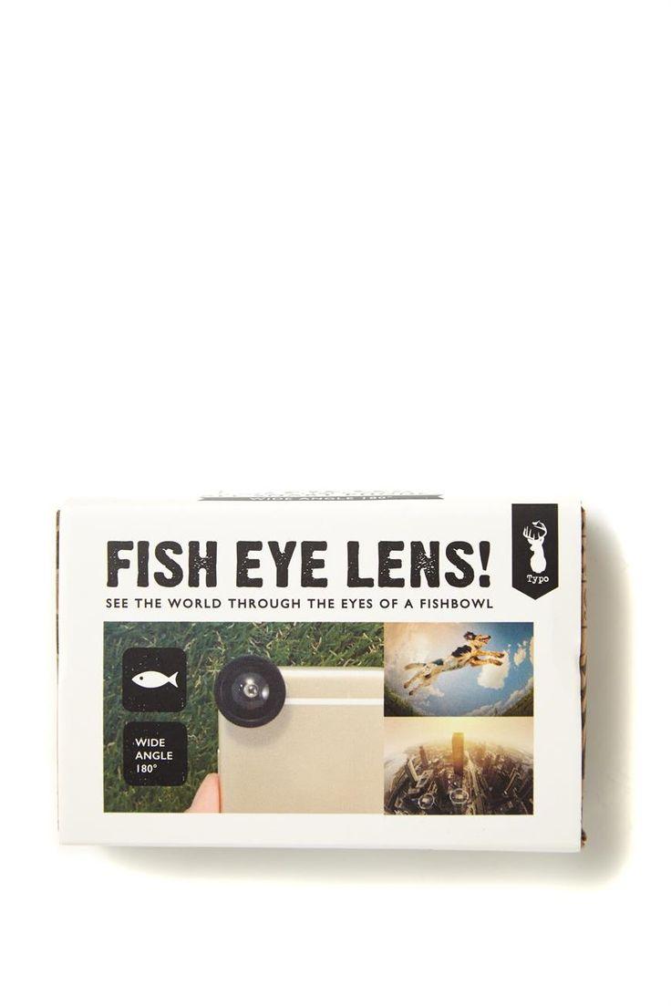 Fish eye phone lens - Typo $13
