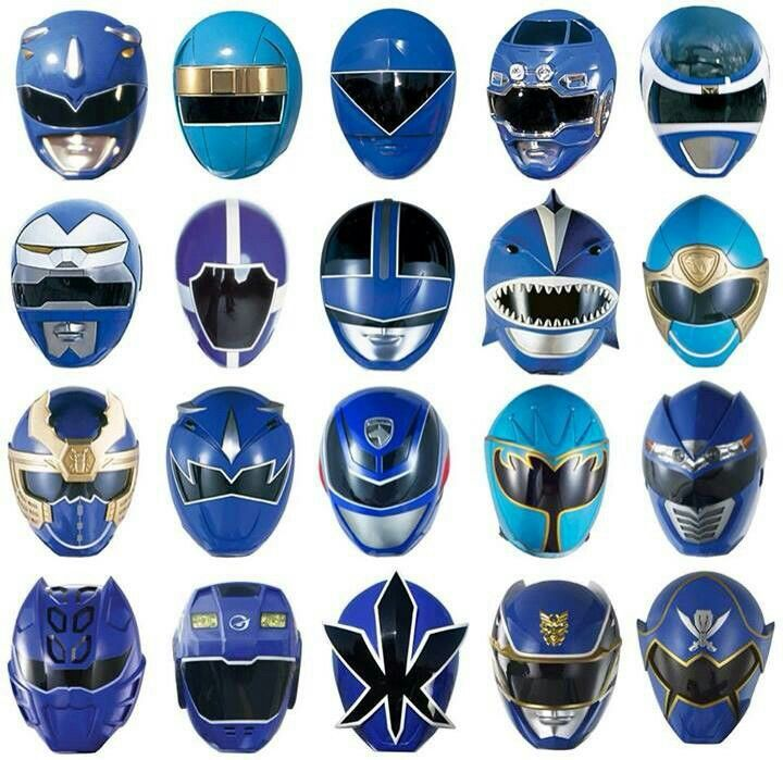 Blue Ranger Helmet - MMPR onwards