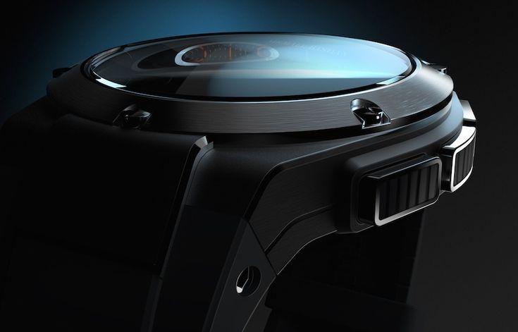 Gilt Michael Bastian Smartwatch Engineered By Hewlett-Packard