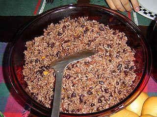 Abuela's moros y cristianos   Reminds me of my favorite Gallo Pinto