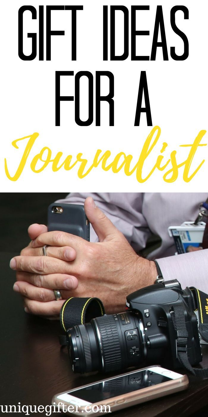 Great Gift Ideas For A Journalist