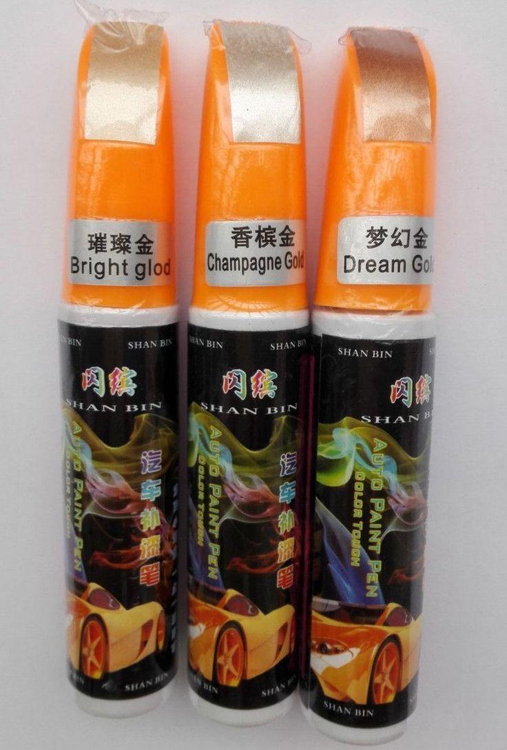 Car colour match pen - Gold Series 1pcs Pro Mending Car Remover Scratch Repair Paint Pen Clear 61 Colors For