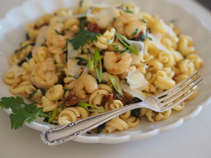 Těstoviny Funghetto s krevetami | Na skok v kuchyni