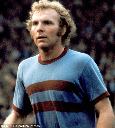 6. Bobby Moore captain.