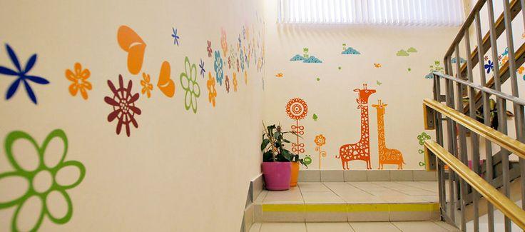 Еще одно оформление детского садика