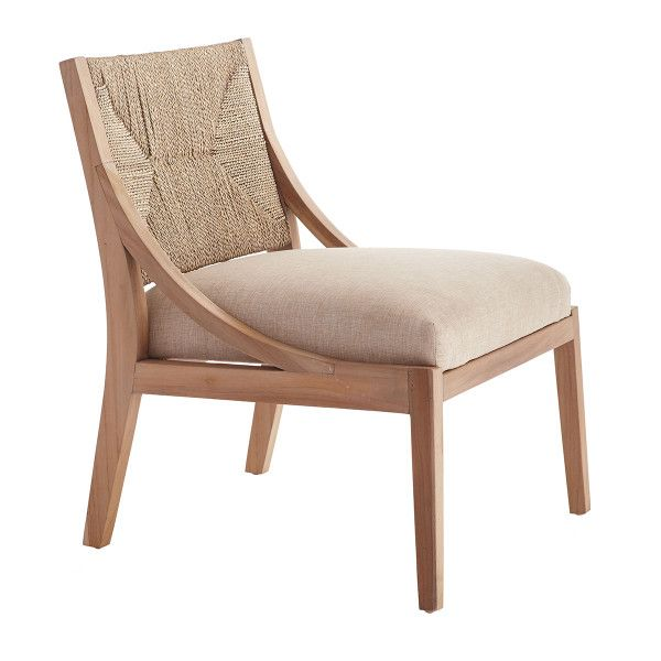 Bleached Teak Lounge Chair