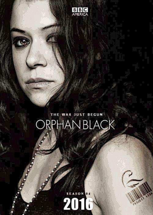 Juodoji našlaitė (4 Sezonas) / Orphan Black (Season 4) (2016)