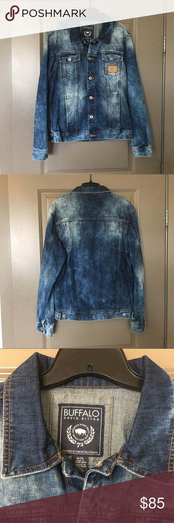 Buffalo David Bitton Jean Jacket Buffalo David Bitton men's size M faded jean jacket in perfect condition. Brand new, never worn. NWOT. Buffalo David Bitton Jackets & Coats