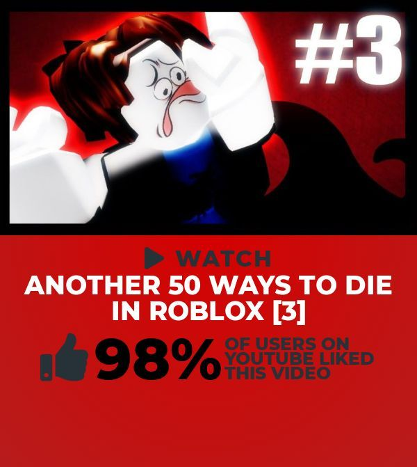 Scanning Social Media For A Cool People Blogs Clip To Watch This Cool Clip Titled Another 50 Ways To Die In Roblox 3 Is Extreme Roblox 3 Roblox Youtube
