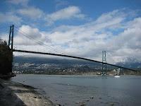 Lions Gate Bridge, Vancouver BC