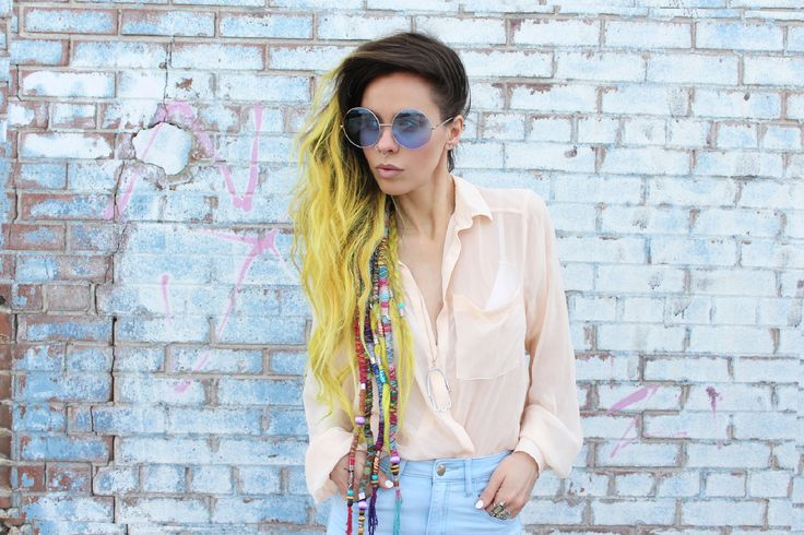 Bewolf Clothing. Indie Festival Hippie Oversize Round Colorful Lens Sunglasses 9580