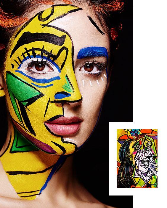 Mujer que llora de Pablo Picasso.