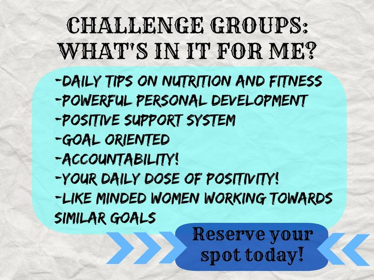 What can a beachbody challenge group do for you?  Www.Beachbodycoach.com/mandys122 and I can help you get started!