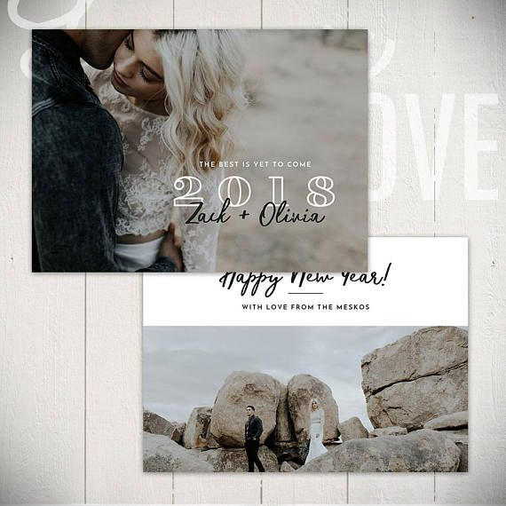 2021 New Years Card Template Cheers D 5x7 New Year Card Etsy New Year Card Card Template Wedding Album Templates