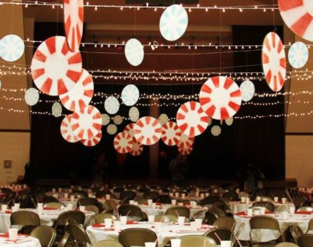 Decorating a Church for Christmas | decorating for a church Christmas party | Christmas
