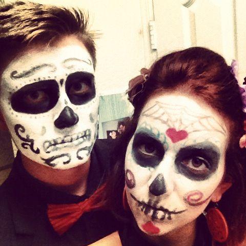 69 best images about altar de muertos on pinterest the dead news mexico and gabriel - Maquillage dia de los muertos ...