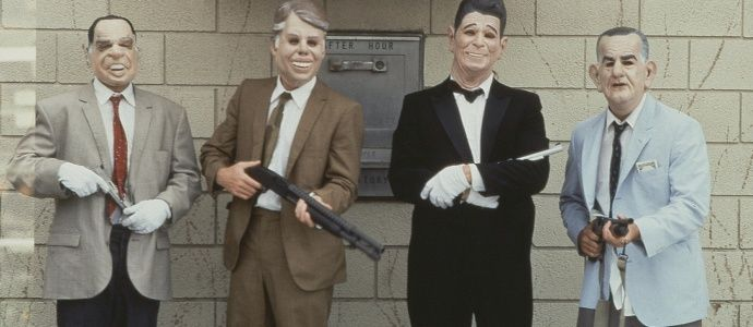 Point Break's Ex-Presidents - an easy group costume