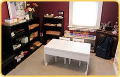 At Home With Montessori Environment