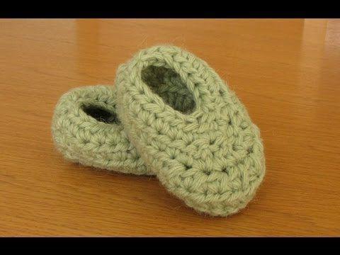 Very Easy Basic Crochet Booties Tutorial Booties For